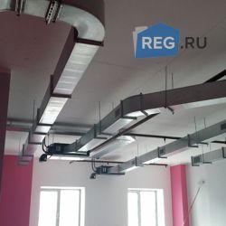 Вентиляция офис компании REG.RU, 3000 м2